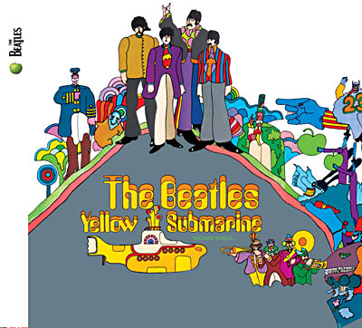 Album The Beatles - Yellow submarine - Remasterisé
